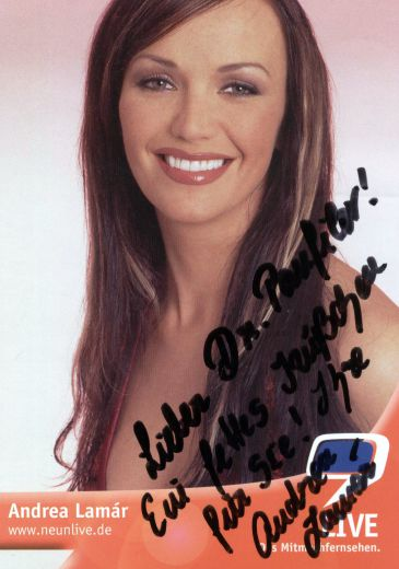 Andrea Lamar - TV voditeljka iz Minkena
