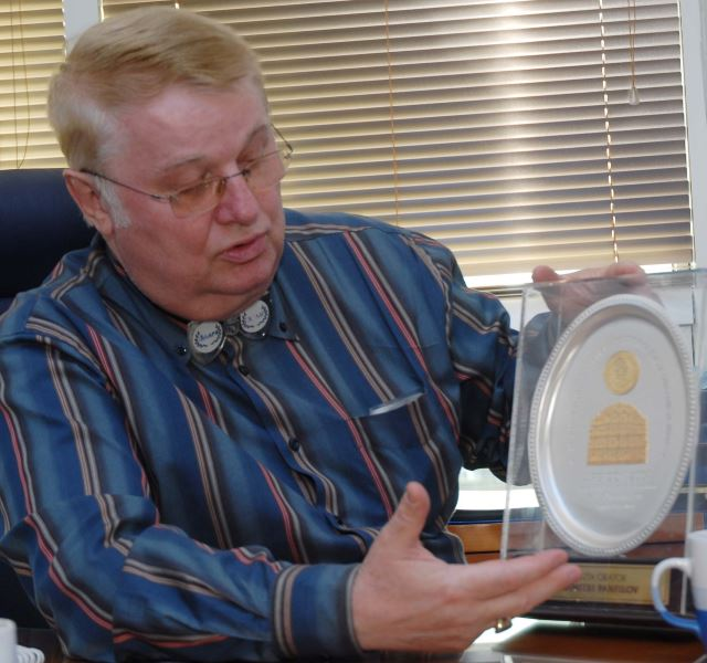 Dr Panfilov peti je nosilac na svetu prestižne Susrutine medalje | Clinic Olymp