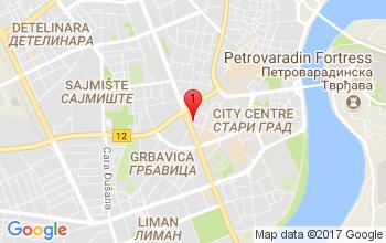 Google Mapa - Augusta Cesarca 18/8, 21000 Novi Sad, Srbija